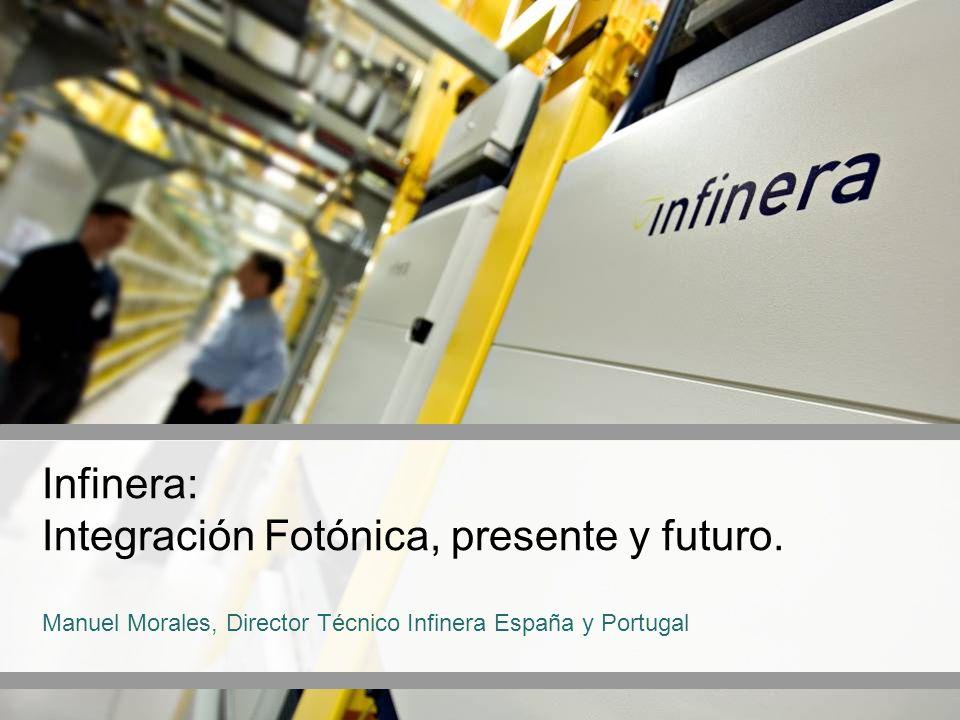 Infinera: Integración Fotónica, presente y futuro.