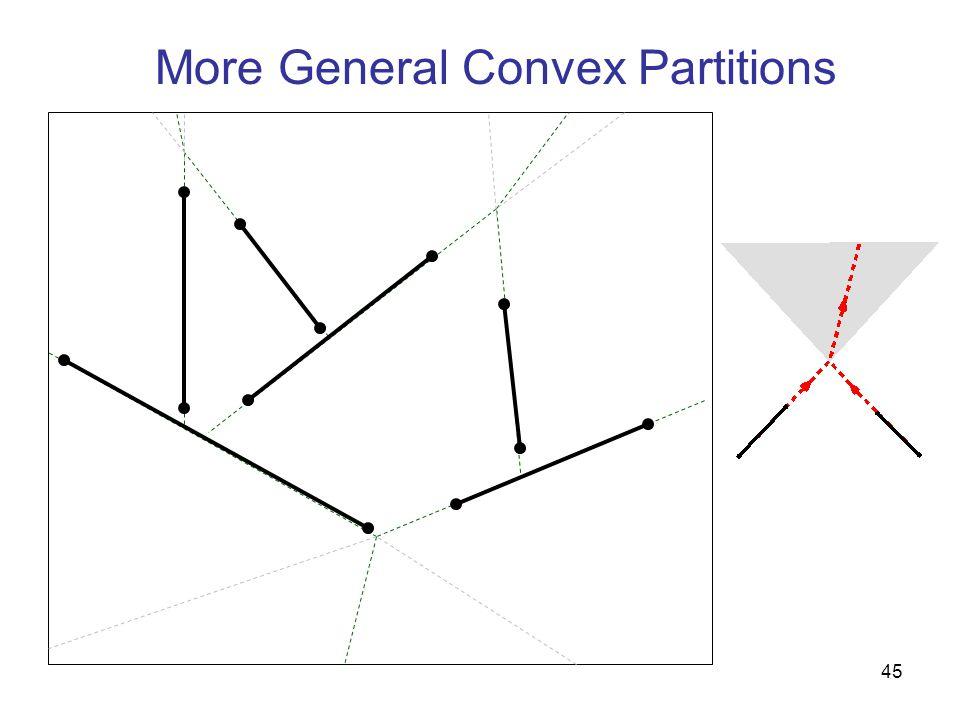45 More General Convex Partitions
