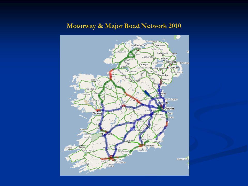 Motorway & Major Road Network 2010