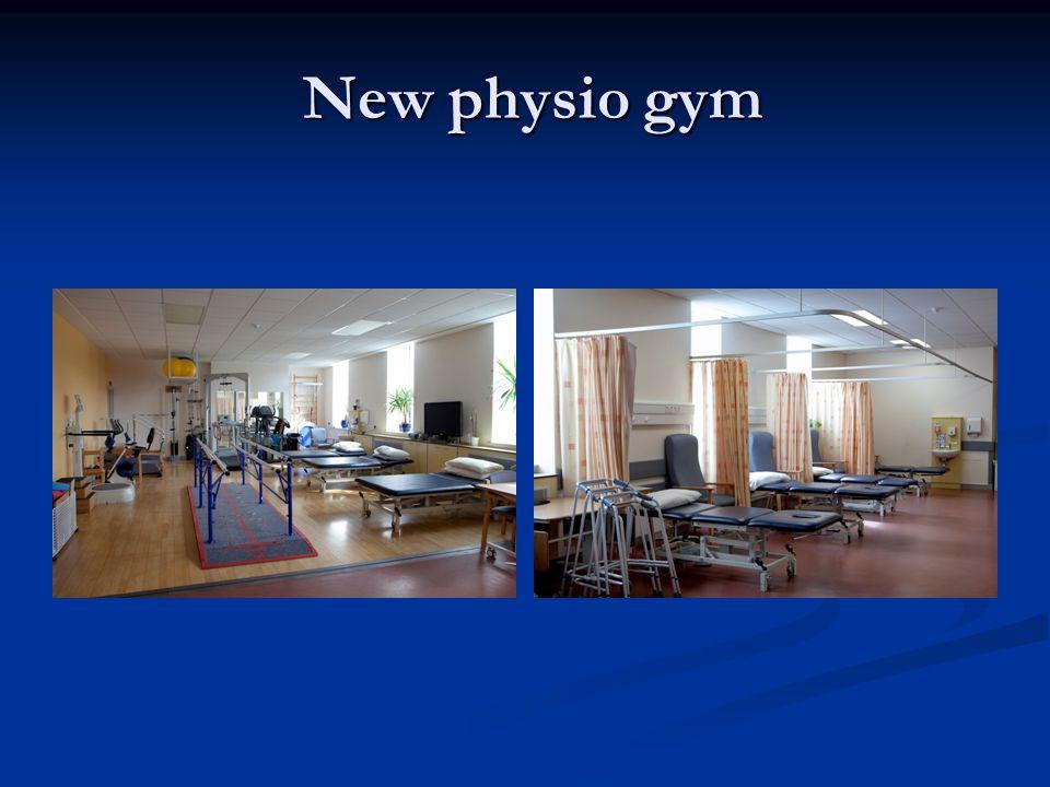 New physio gym New physio gym