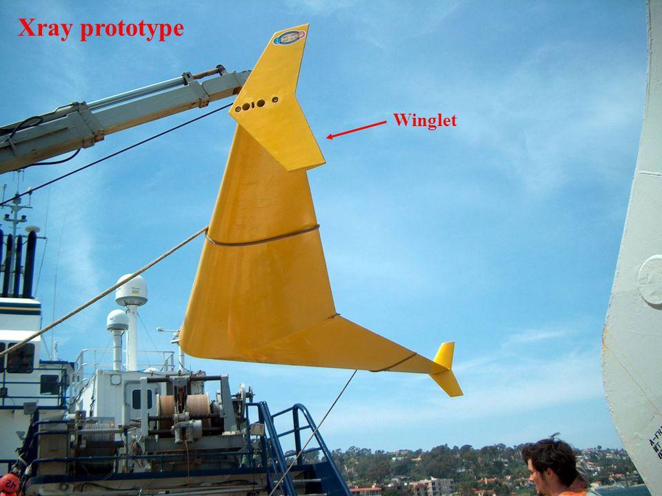 Winglet Xray prototype