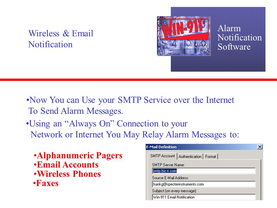 Alarm Notification Software Runtime Changes: Bypass Alarms Ever want to Take Alarms out of The Dial-Out List During Runtime .