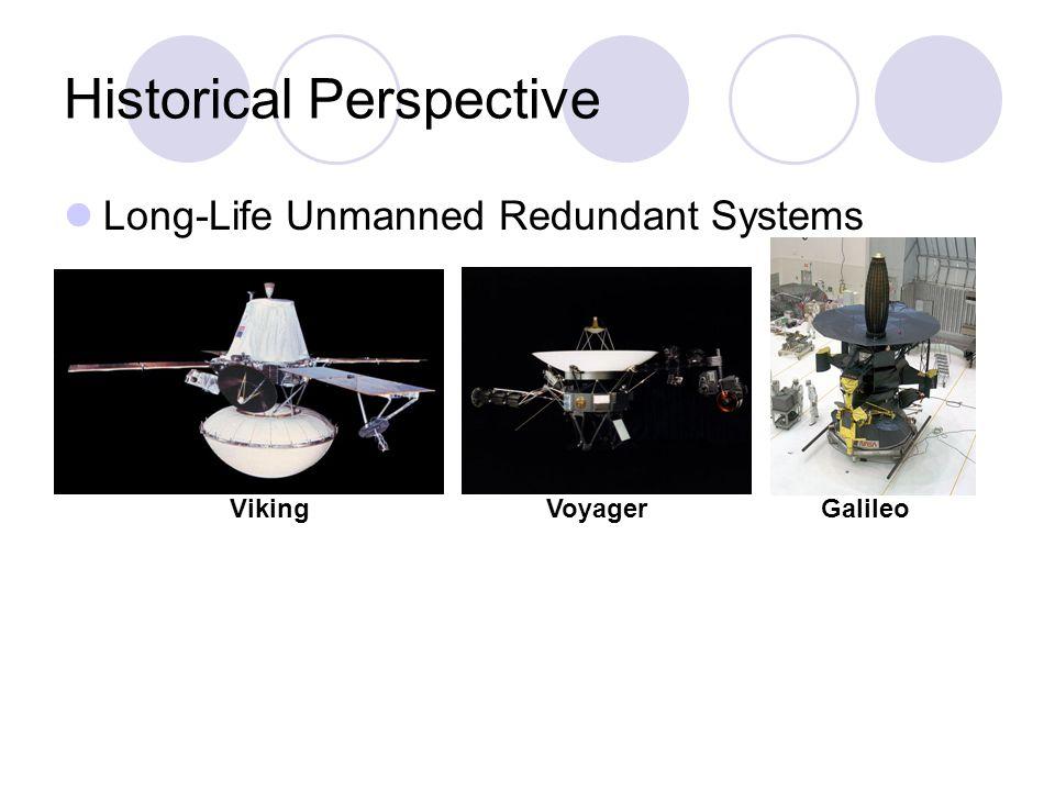 Long-Life Unmanned Redundant Systems Historical Perspective VikingVoyagerGalileo