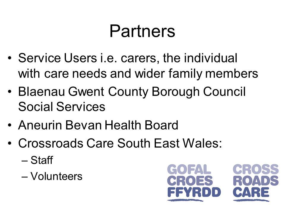 Partners Service Users i.e.