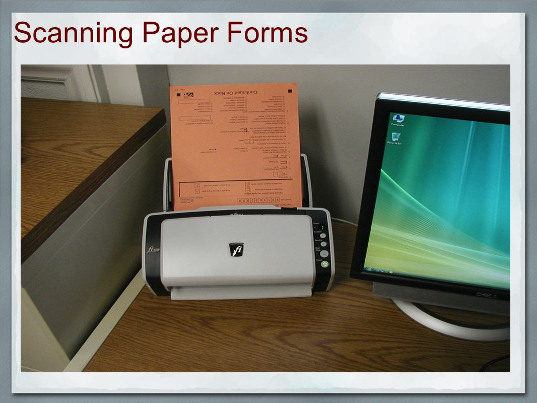 Scanning Paper Forms