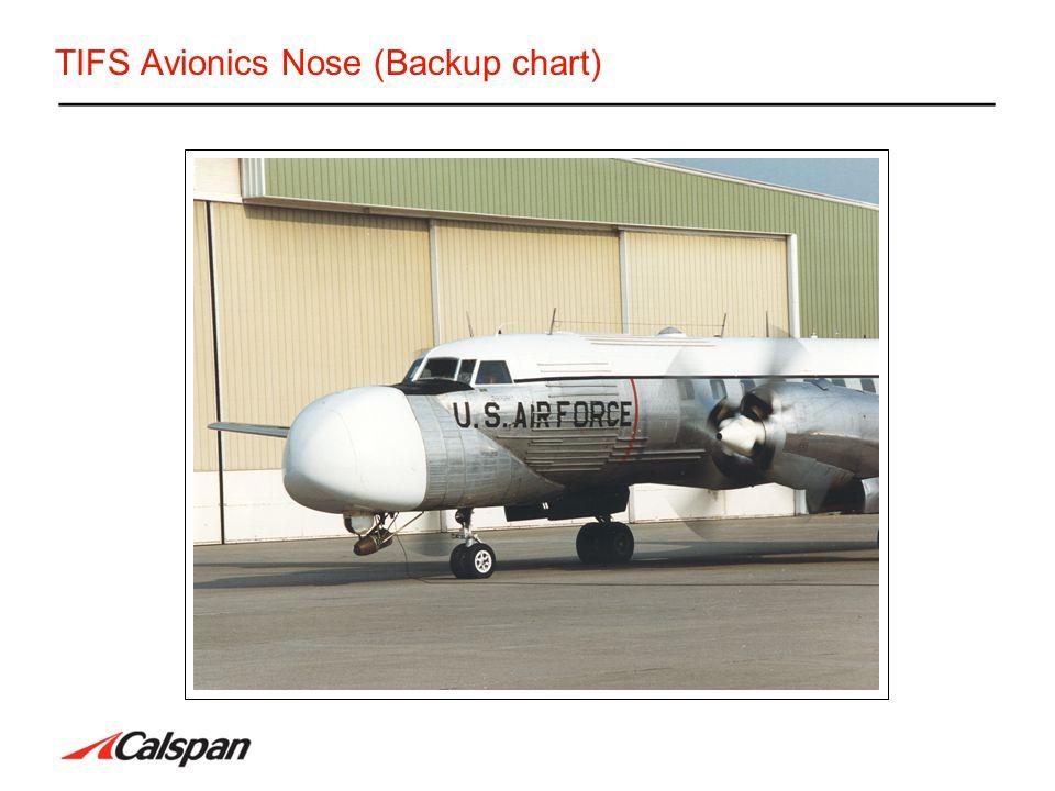TIFS Avionics Nose (Backup chart)