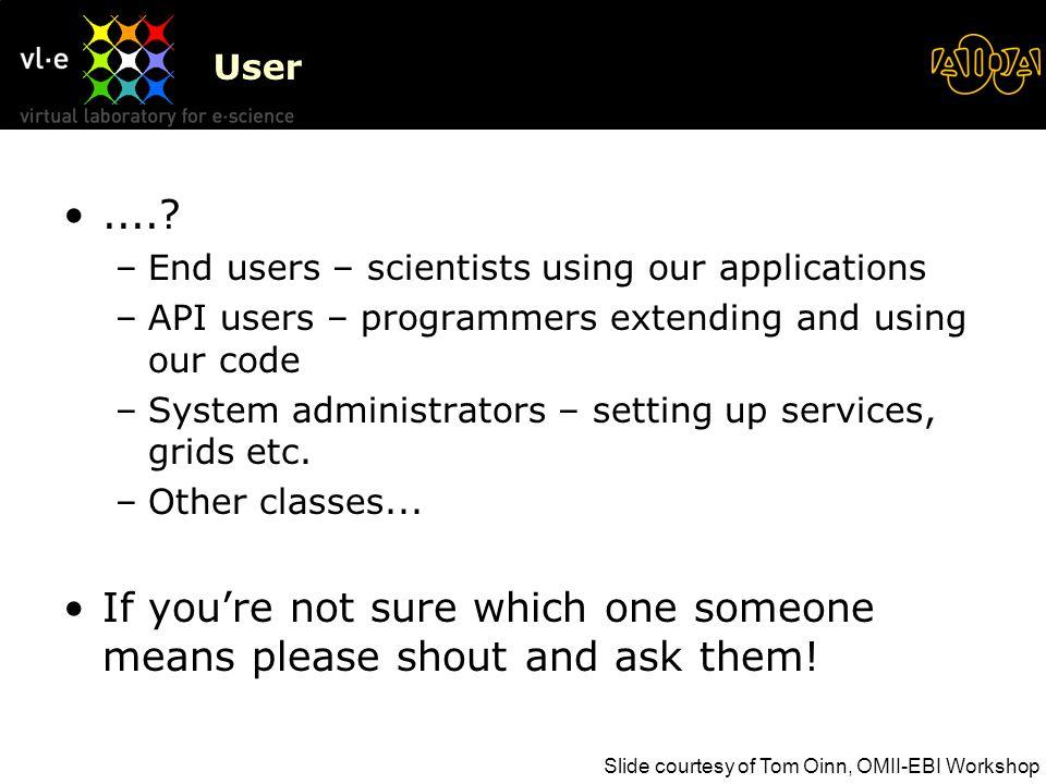 User.....