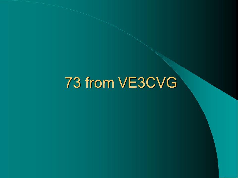 73 from VE3CVG