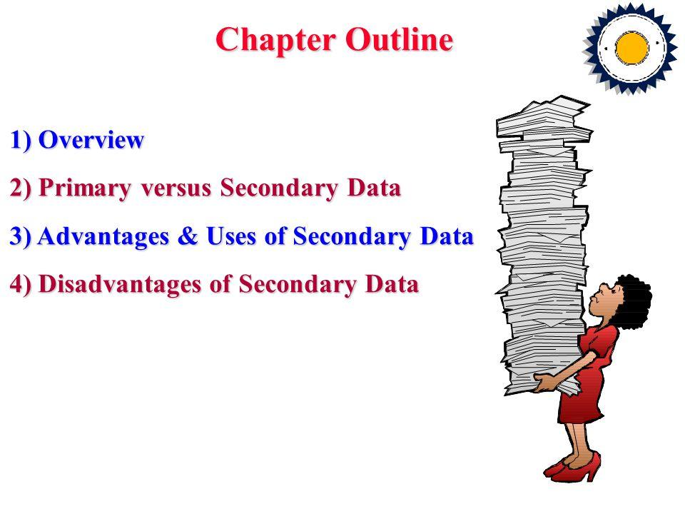 5) Criteria for Evaluating Secondary Data i.