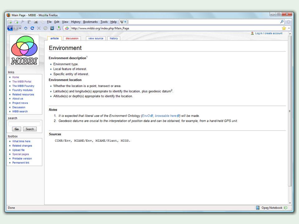 'Pedro' tool → XML → (via XSLT) Wiki code (etc.)