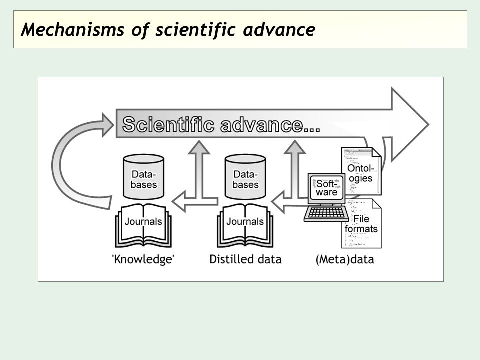 Mechanisms of scientific advance