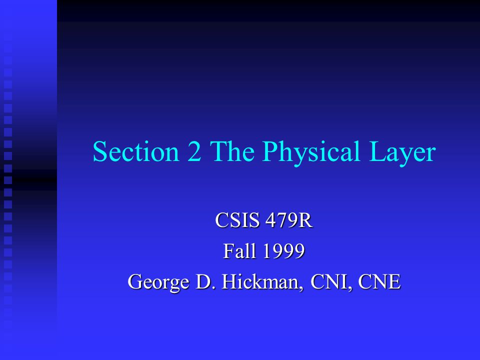 Objectives Identify why rules are needed in computer networks Identify why rules are needed in computer networks Identify the seven layers of the OSI model and how the layers interact Identify the seven layers of the OSI model and how the layers interact Identify the relationship between the OSI reference model and computer network protocols Identify the relationship between the OSI reference model and computer network protocols Identify the basic purpose of the OSI Physical layer Identify the basic purpose of the OSI Physical layer List the characteristics of the two common connection types used in computer networks List the characteristics of the two common connection types used in computer networks Describe the five common physical topologies used in computer networks Describe the five common physical topologies used in computer networks