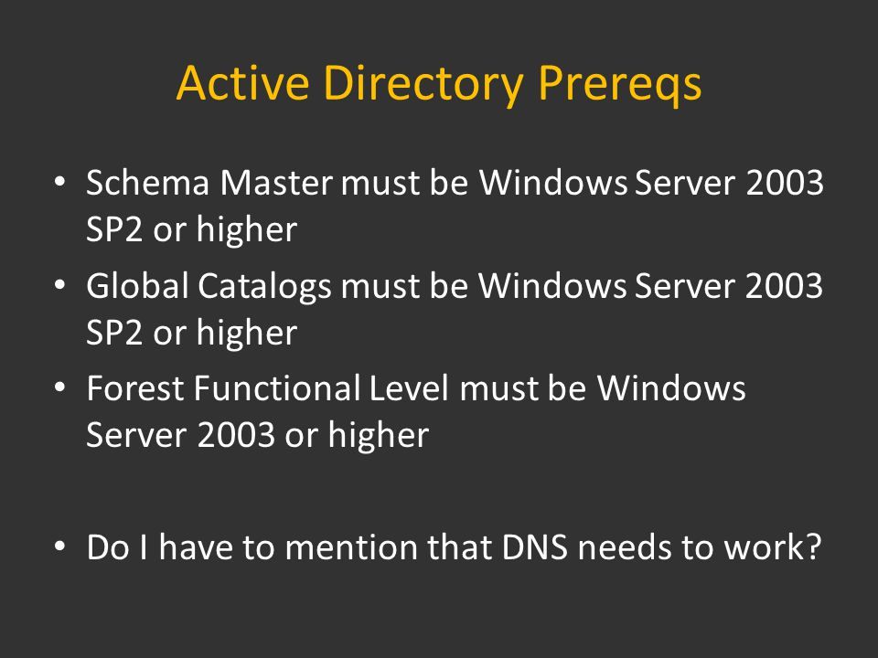 Converting LDAP Filters in Objects Exchange 2010 use OPATH format in Administrative Tools instead of LDAP Need to convert Objects to be able to edit them – Address Lists – Recipient Policies – Dynamic Distribution Groups Convert it with the Shell… When Converting Recipient Policies, you need to deactivate Mailboxmanager settings in ESM