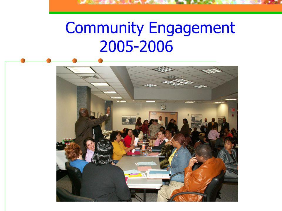 Community Engagement 2005-2006