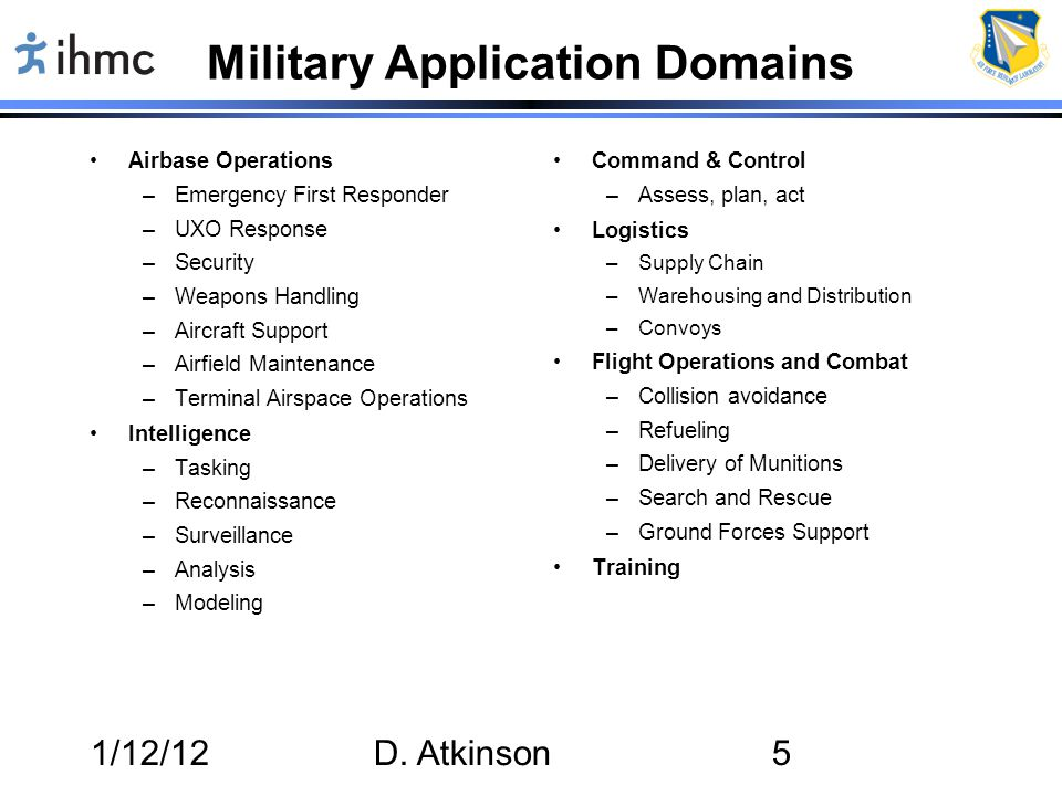 1/12/12D.Atkinson26 How Will RPAs Change.