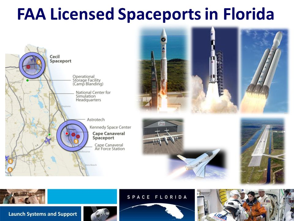 FAA Licensed Spaceports in Florida