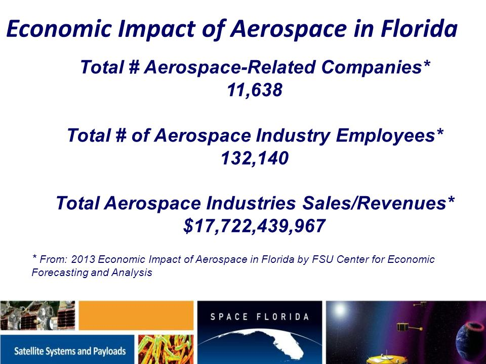 Space / Aerospace Industry Trends Strategic Assets Depleted...
