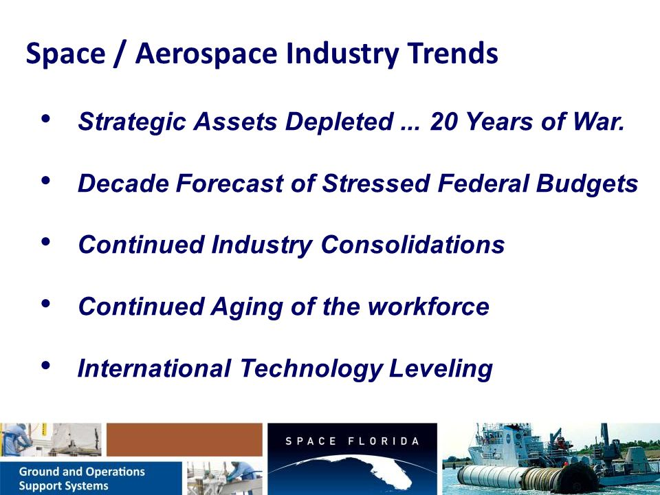 The Space Industry is Transitioning.… … … Private Sector Role Increasing.