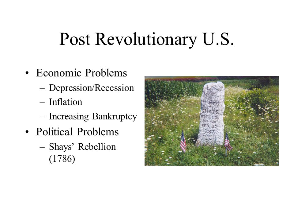 Post Revolutionary U.S.