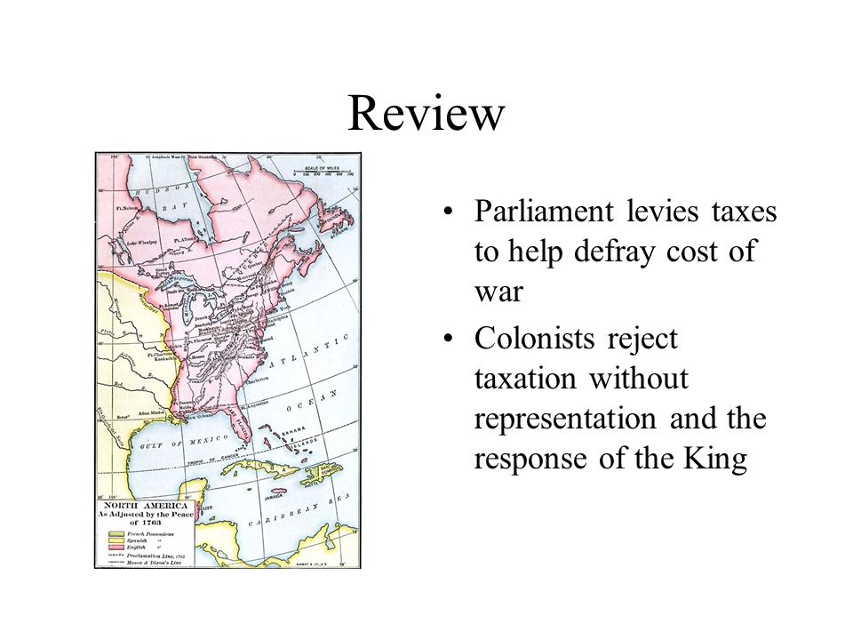 Review Colonial unrest begins to get violent 13 colonies agree to hold meeting to discuss the deteriorating situation First Continental Congress meets in Philadelphia in 1774 Drafts Articles of Association, the first document unifying the 13 colonies and outlining a policy of trade embargoes