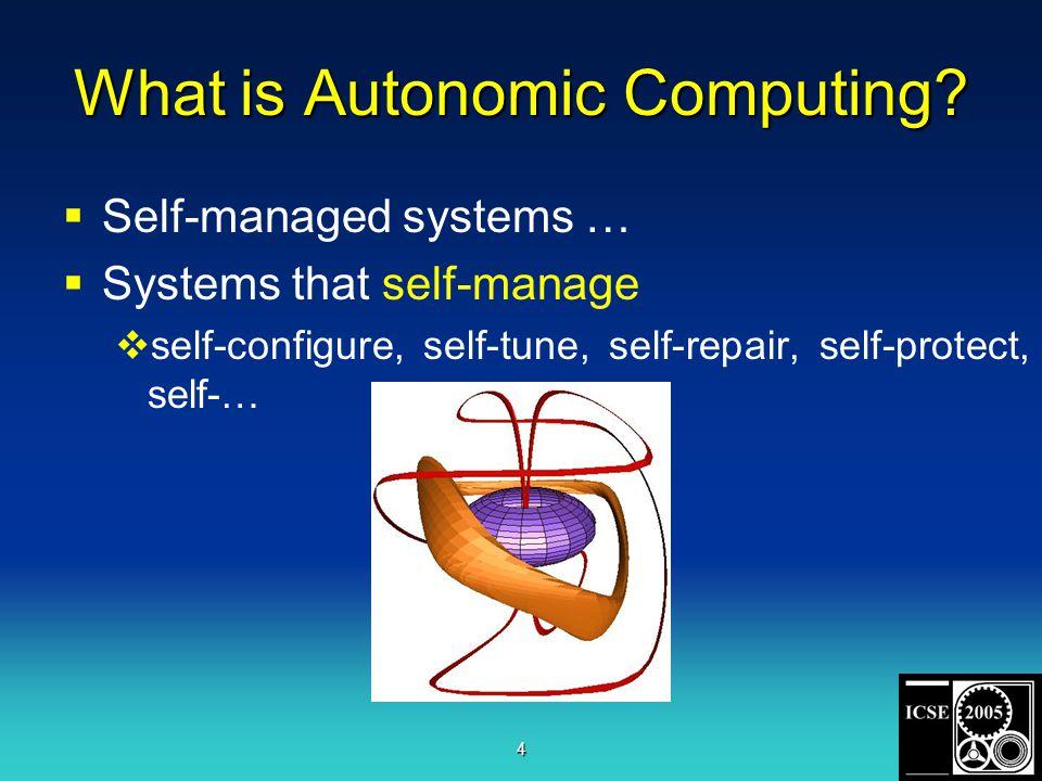 4 What is Autonomic Computing.