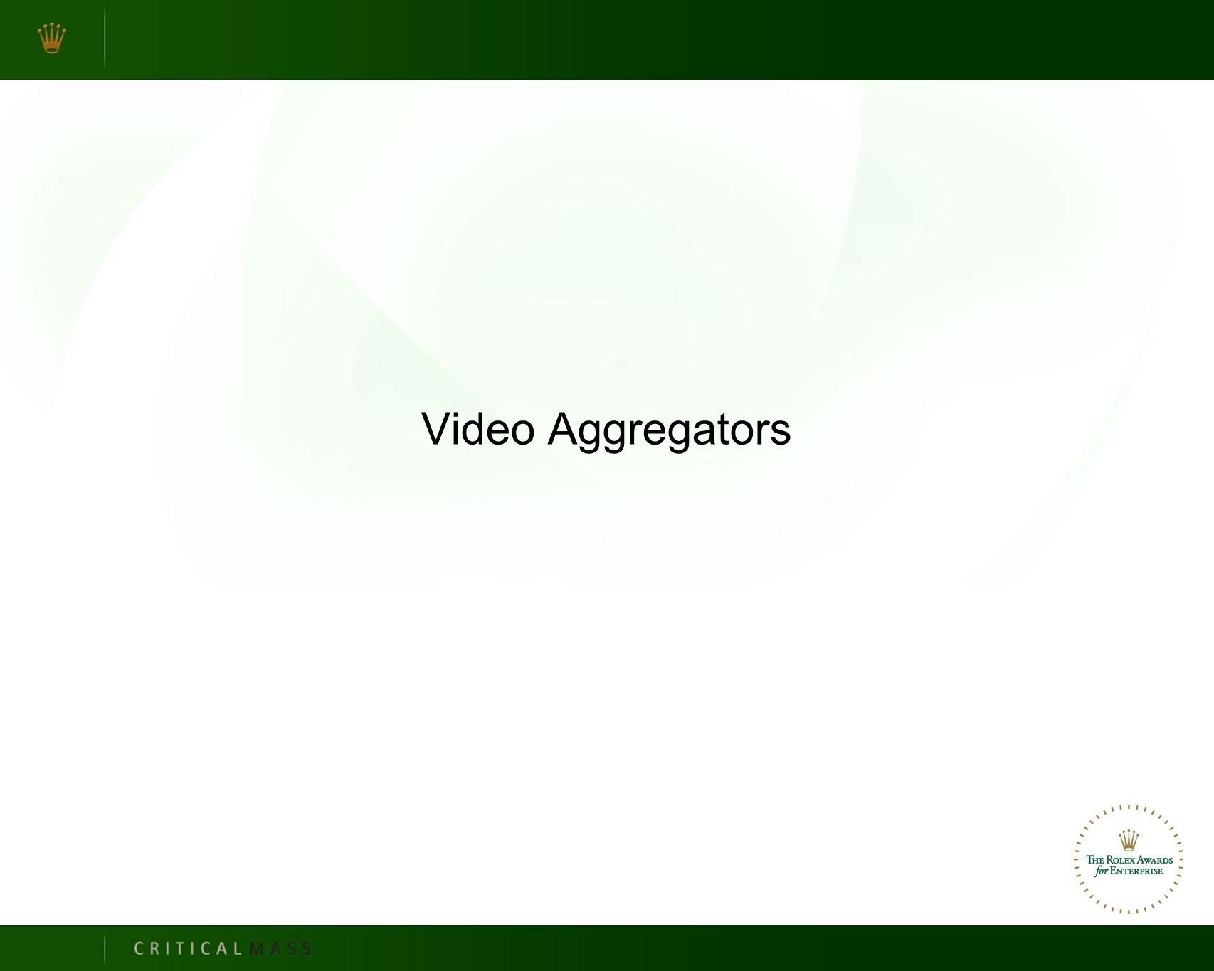 Video Aggregators