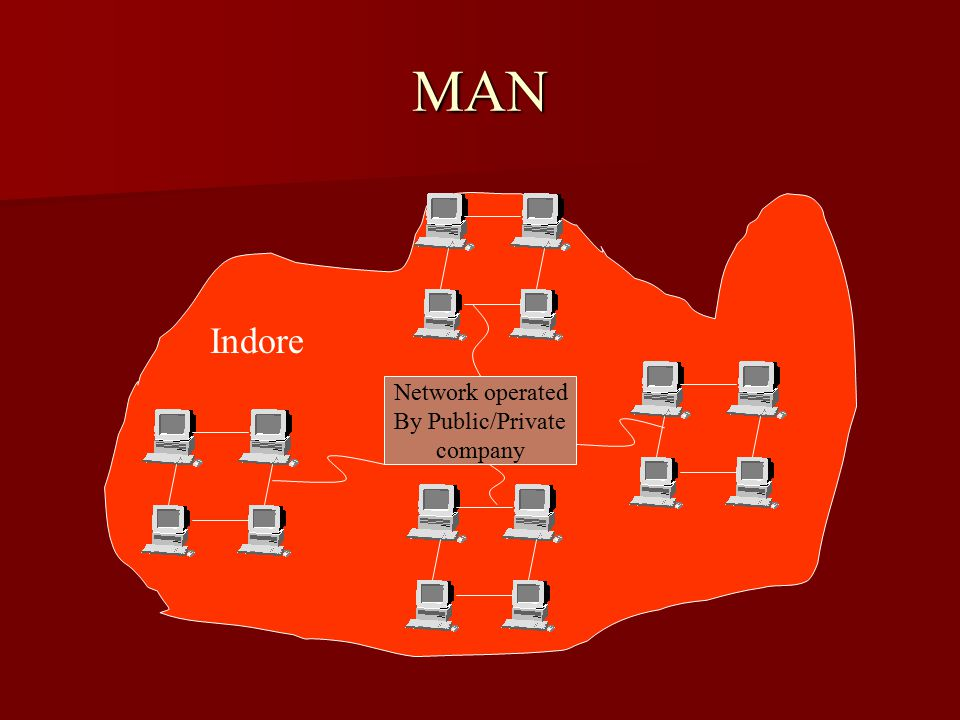 MAN Indore Network operated By Public/Private company