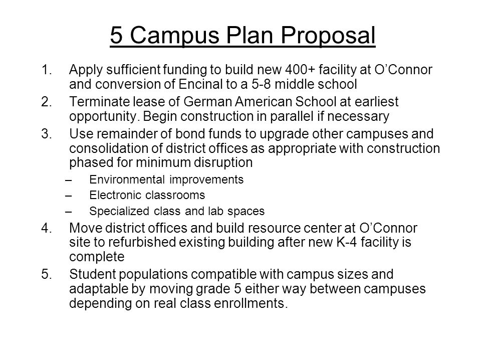5 Campus Plan Proposal 1.