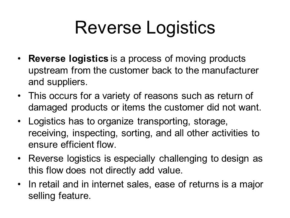 Logistics Tasks 1.