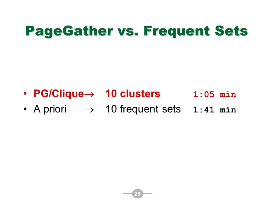 29 PageGather vs.
