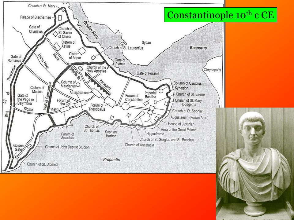 Constantinople 10 th c CE