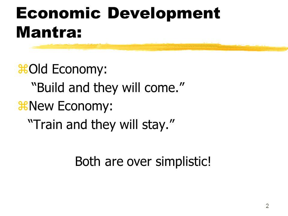 3 What is Economic Development.