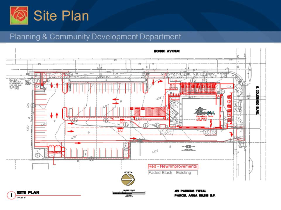 Planning & Community Development Department Site Plan 10