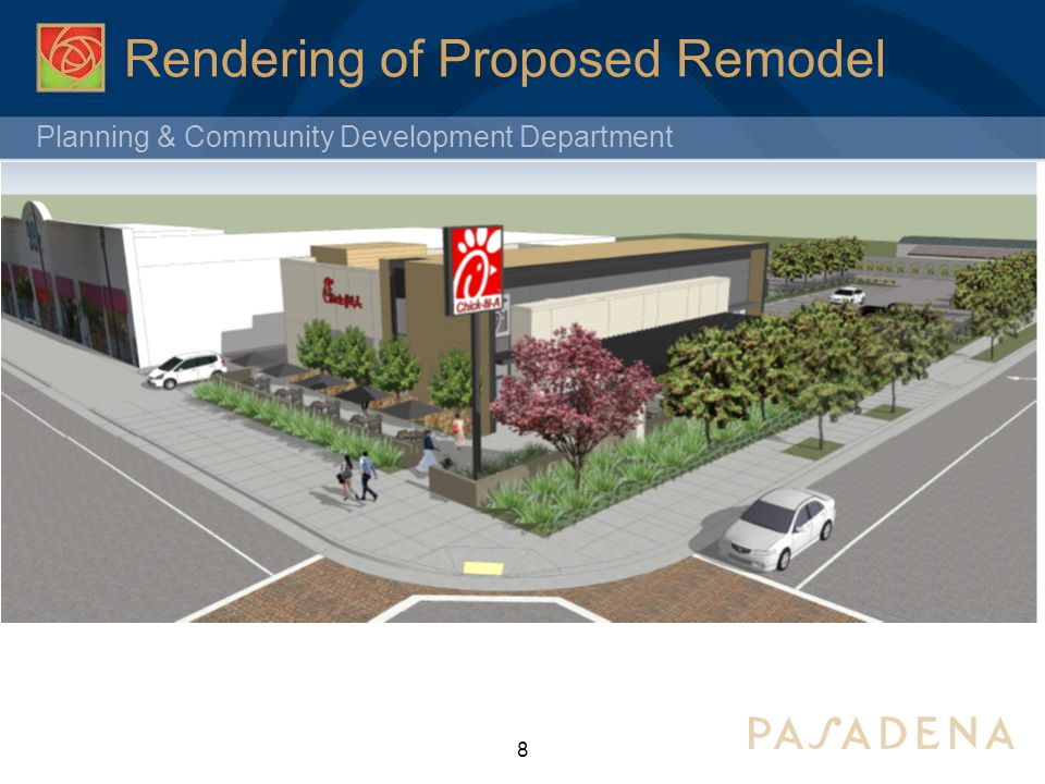 Planning & Community Development Department Consideration of a Call for Review Conditional Use Permit #6084 Proposed Chick-Fil-A Restaurant 1700 East Colorado Boulevard City Council Meeting January 13, 2014