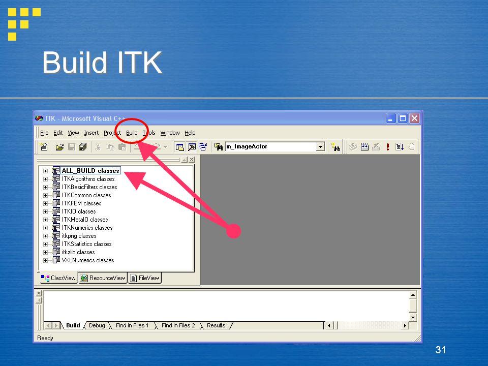 31 Build ITK