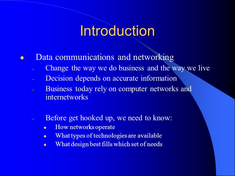 Introduction – Development of the PC changes a lot in business, industry, science and education.