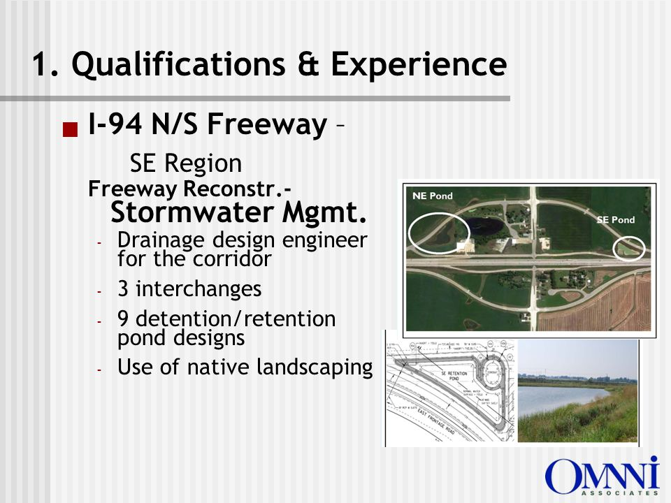  I-94 N/S Freeway – SE Region Freeway Reconstr.- Stormwater Mgmt.