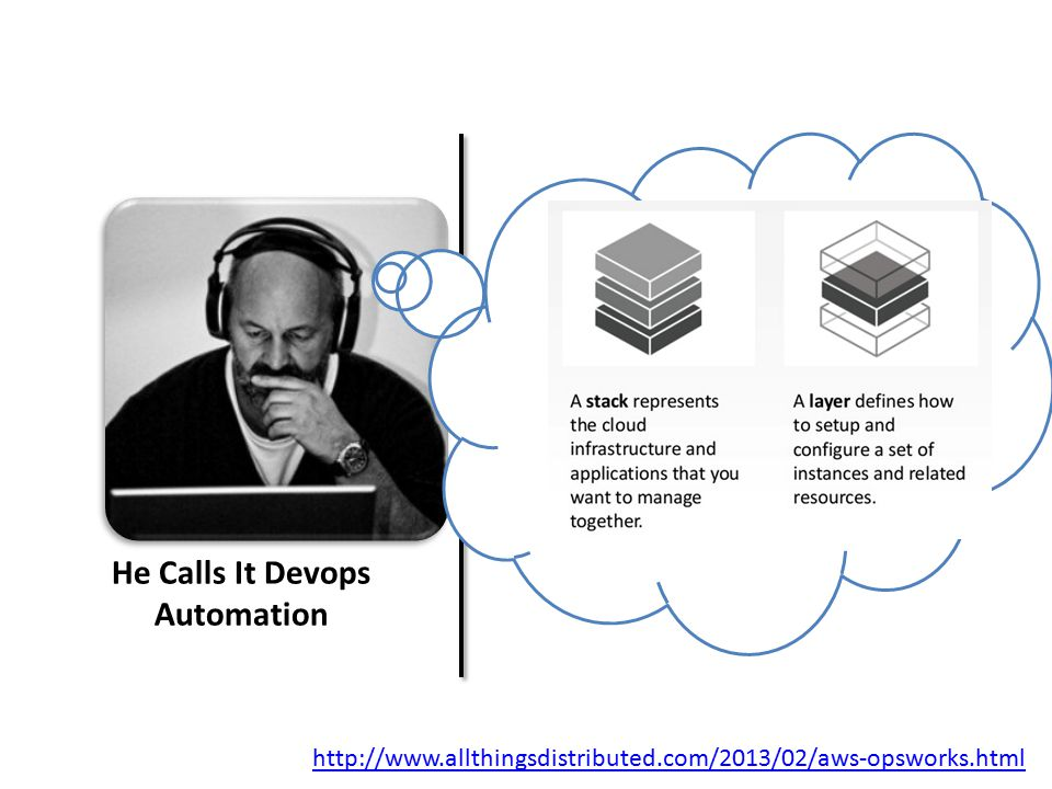He Calls It Devops Automation http://www.allthingsdistributed.com/2013/02/aws-opsworks.html