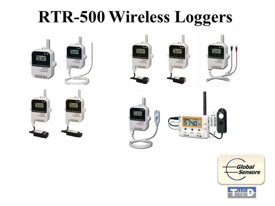 RTR-500 Wireless Loggers