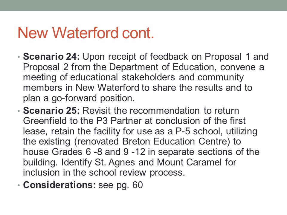 New Waterford cont.