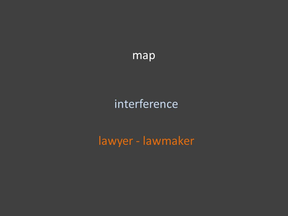 map interference lawyer - lawmaker