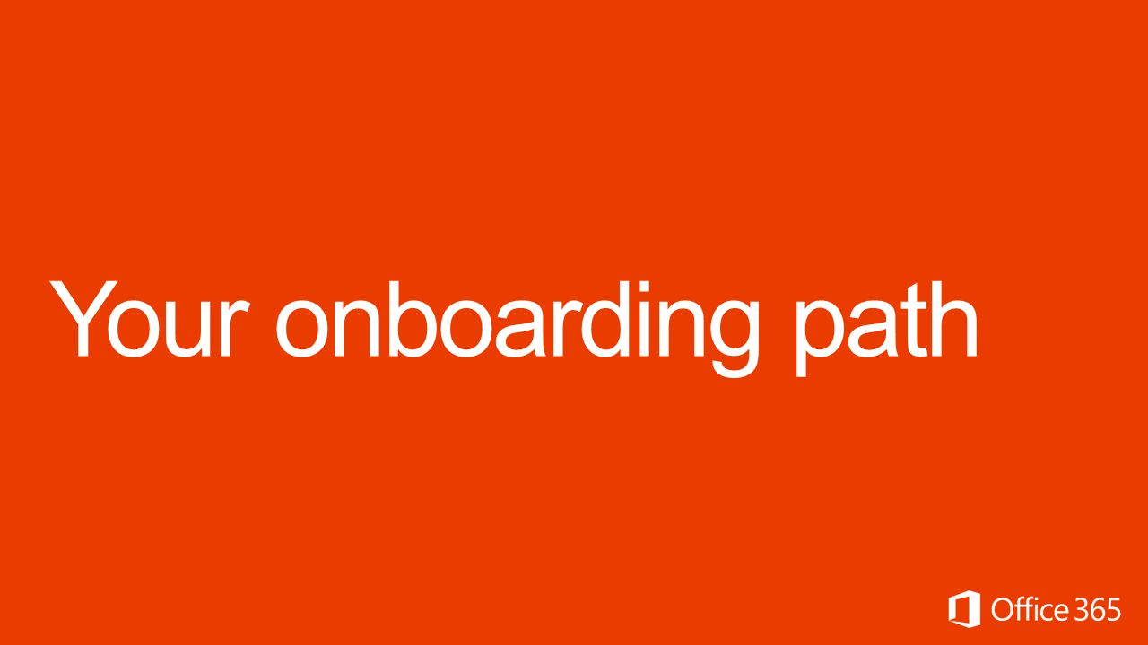 Your onboarding path