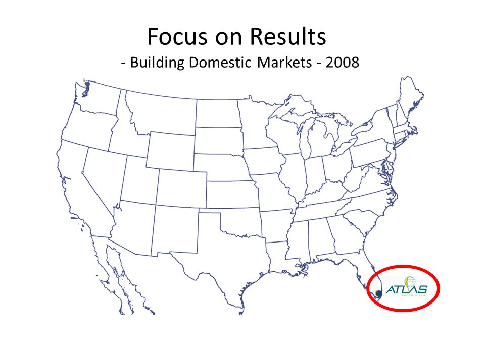 Focus on Results - Building Domestic Markets - 2008