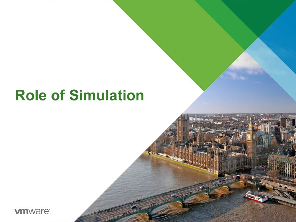 Role of Simulation
