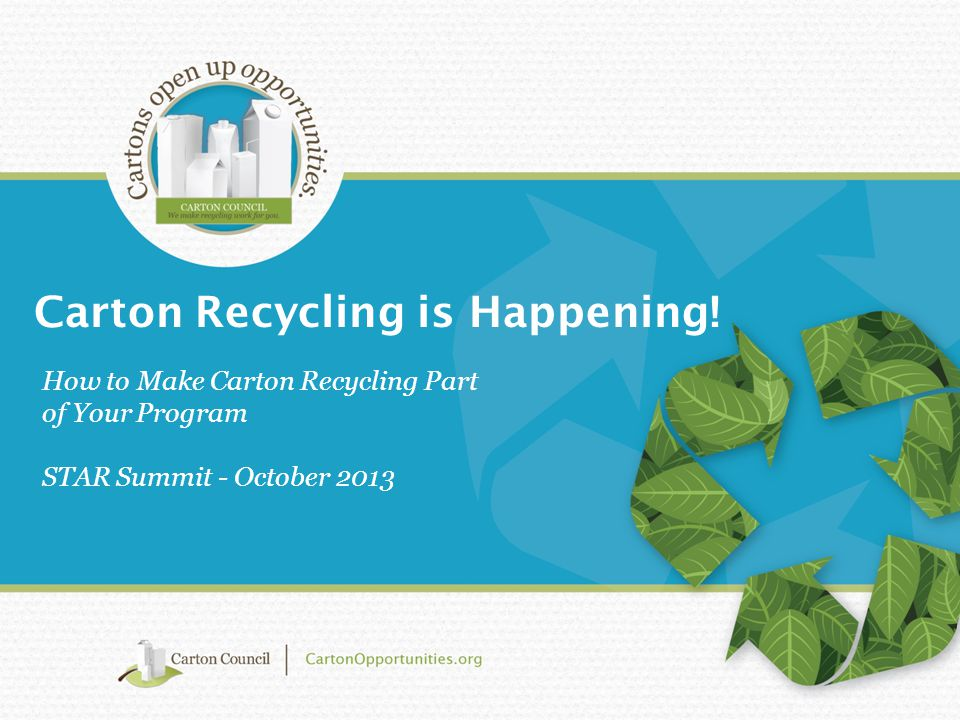 Is Carton Recycling Available in Texas TODAY? ?
