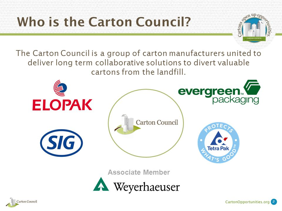 What Does the Carton Council Want?