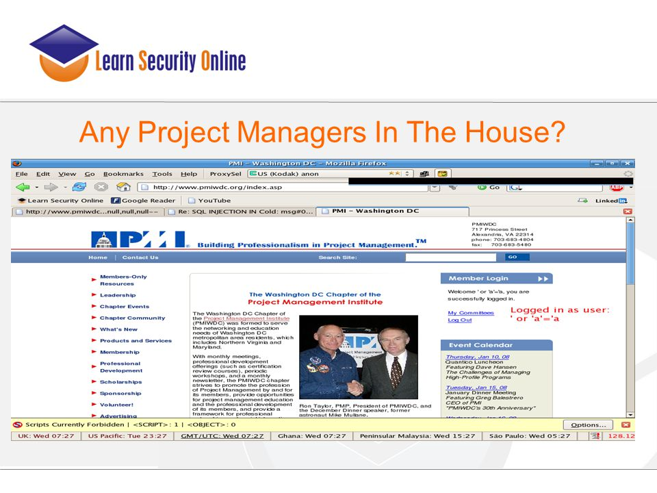 Any Project Managers In The House?