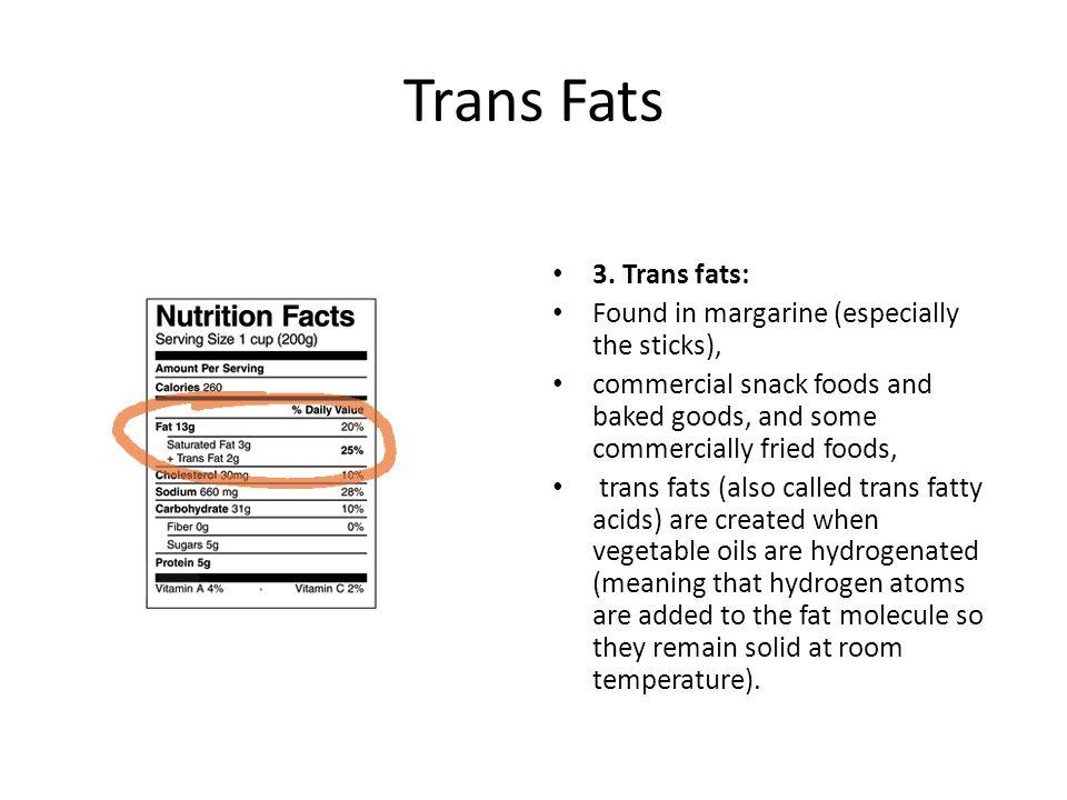 Trans Fats 3.