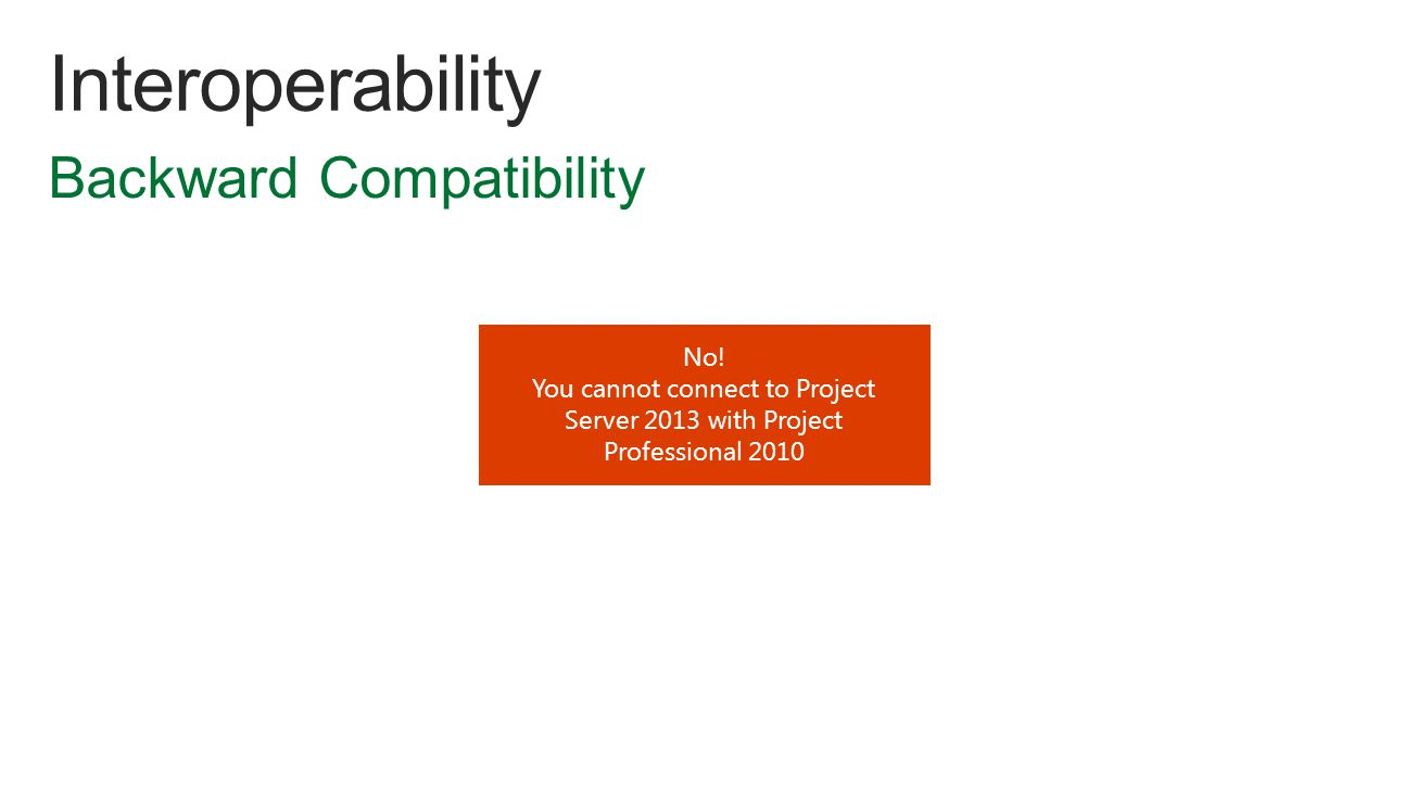 No! You cannot connect to Project Server 2013 with Project Professional 2010