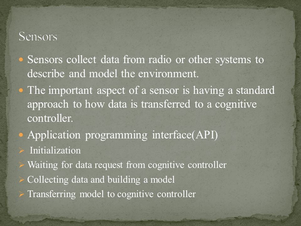The cognitive engine concepts were introduced and its implementation was shown.